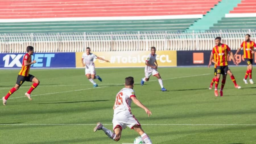 CR Belouizdad earn home advantage. Esperance de Tunis left with a 2 - 0 deficit to overcome. Photo   CAF Online
