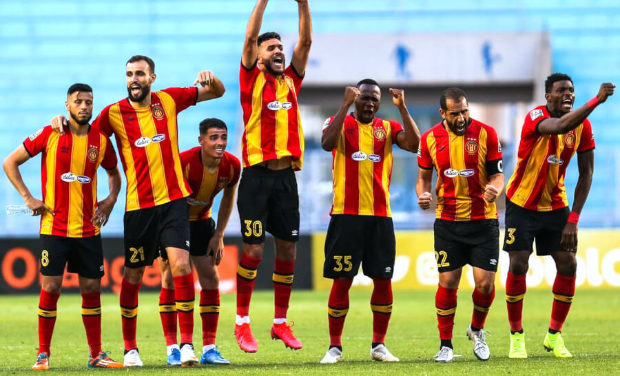 Esperance beat Belouizdad to advance to the semifinals of the CAF Champions League. Photo | est.org.tn