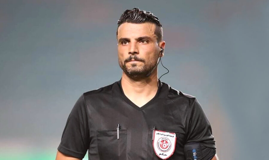 L'arbitre Aymen Nasri désigné pour officier le prochain match face à l'Etoile en seizième de finale de la Coupe de Tunisie. (Photo Aymen Nasri facebook)