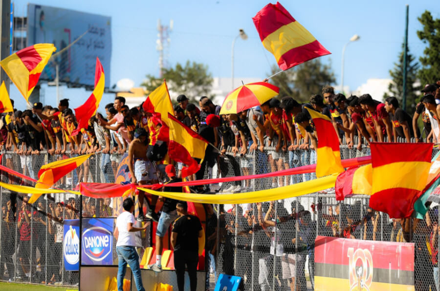 5000 supporters allowed for CAF Champions League Semifinals. Photo | est.org.tn