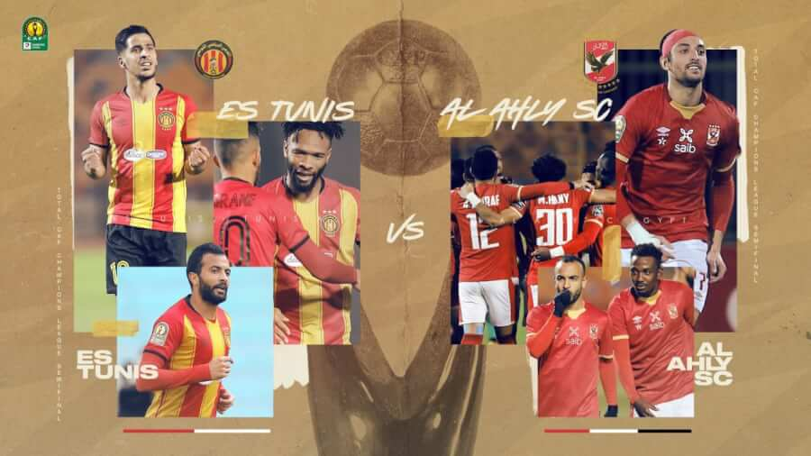 Esperance of Tunisia and Al Ahly of Egypt meet in the CAF Champions League semifinals. Photo | CAF Online