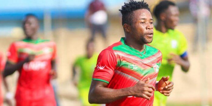 One of Esperance's transfer market targets Diawisie Taylor. Photo | Ghana Sports Page
