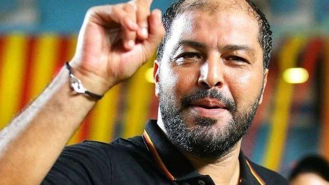 Mouine Chaâbani, désormais ancien entraîneur des Sang et Or. (Photo est.org.tn)