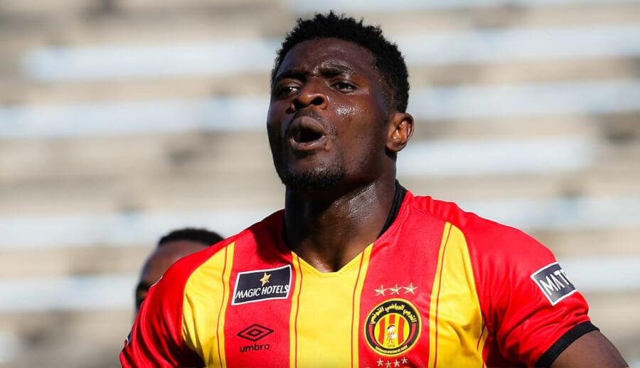 Résiliation du contrat de l'attaquant ghanéen Khalid Abdul Basit. (Photo est.org.tn)
