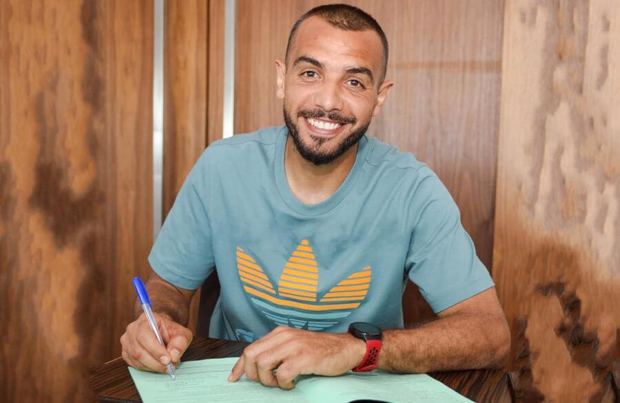 Le gardien Moëz Ben Chérifia prolonge son contrat avec l'Espérance jusqu'en juin 2024. (Photo est.org.tn)