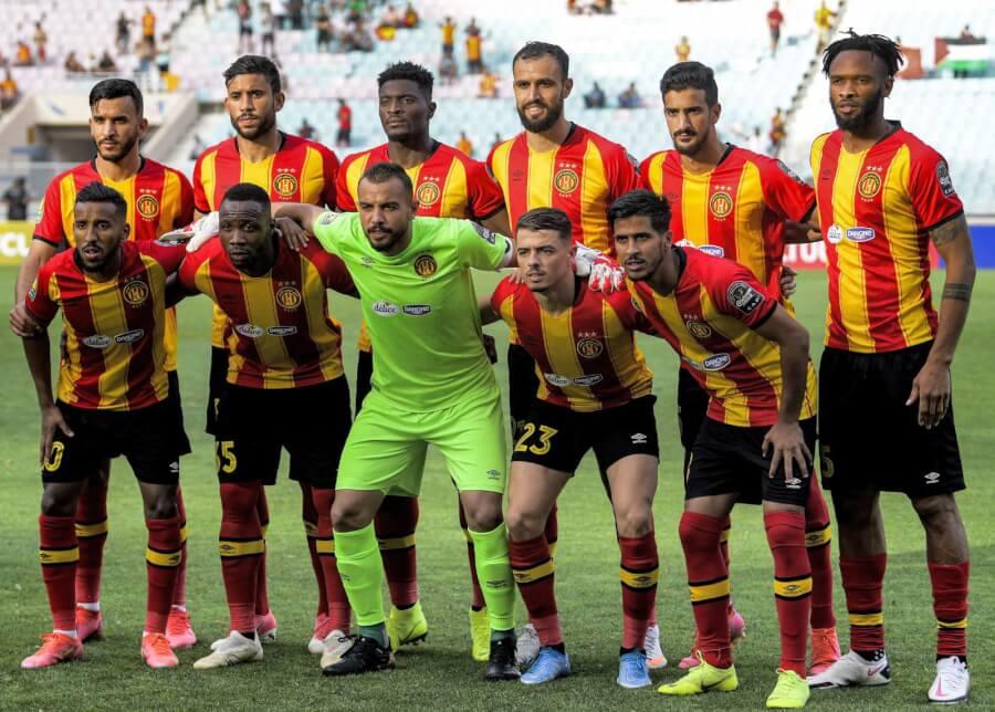 Le Onze de l'Espérance face à Al Ahly en demi-finale de la Ligue des champions 2021. (Photo CAFOnline.com)