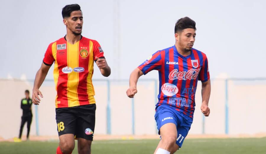 Benguit et ses coéquipiers se sont imposés 4-1 face à l'US Tataouine en match amical disputé à Djerba. (Photo @USTataouine)
