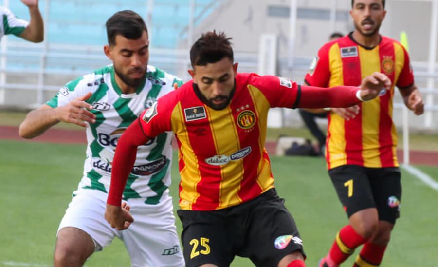 Ghaïlène Chaâlali et ses coéquipiers s'inclinent face à l'AS Soliman en match amical. (Photo est.org.tn)