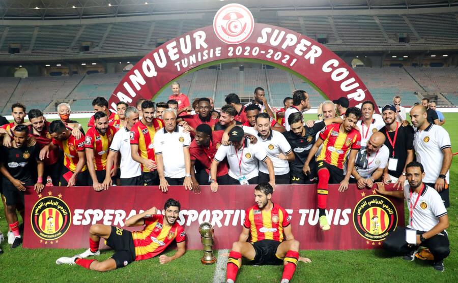 L'Espérance de Tunis a remporté sa sixième Supercoupe de Tunisie. Félicitations ! (Photo est.org.tn)