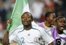 Le Nigérian Ganiyu Oseni, champion du monde 2007 des moins de 17 ans.