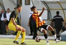 Oussama Darragi contre l'ES Hammam-Sousse, le 23 août 2008. (Photo CHALA)