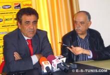 L'entraîneur Faouzi Benzarti en conférence de presse. (Photo MSM)