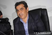 L'entraîneur Faouzi Benzarti en conférence de presse d'après-match. (Photo CHALA)