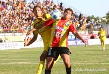 Youssef Msakni lors du match de championnat national CAB - EST du 4 août 2010 au stade 15 Octobre de Bizerte. (Photo CHALA)
