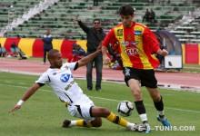 Mohamed Ali Ben Hammouda lors du match face à l'US Ben Guerdane, le 4 décembre 2010 à El Menzah. (Photo CHALA)