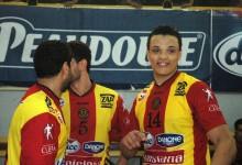 Youssef Ben Ali, joueur sang et or de l'équipe première de handball.