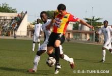 Chammam face à l'ASPAC FC de Cotonou en Ligue des champions, le 3 avril 2011. (Photo CHALA)