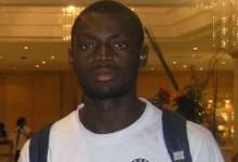Rémi Marcel Adiko, au Parc B pour passer les tests d'usage