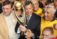 Troisième Champions League consécutive pour Meddeb et ses Sang et Or. Bonne chance ! (Photo : CHALA)