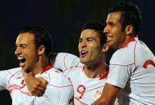 Débuts réussis pour Harbaoui en sélection. (Photo : AFP)