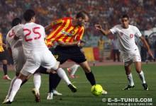 Walid Hichri lors du match EST - ESS, en Ligue des champions d'Afrique, le 5 août 2012 à Radès (Photo CHALA)